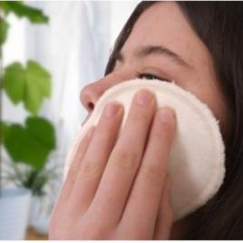 Disques à démaquiller lavables zéro déchet en chanvre & coton bios et bambou