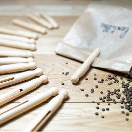 Pinces écologiques en bois 25