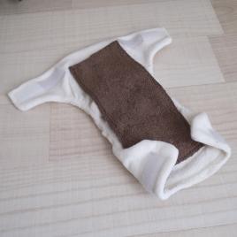 Doublure insert pour couche lavable en bambou ou coton bio